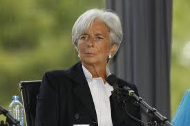 The IMF Boss Christine Larggard