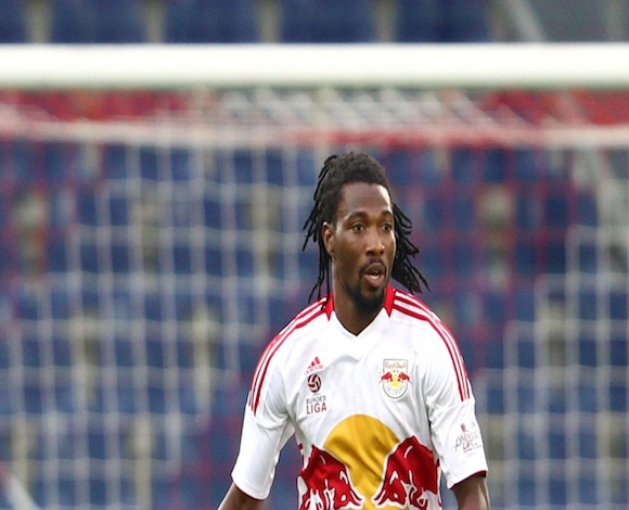 Isaac Vorsah in action for Red Bull Salzburg