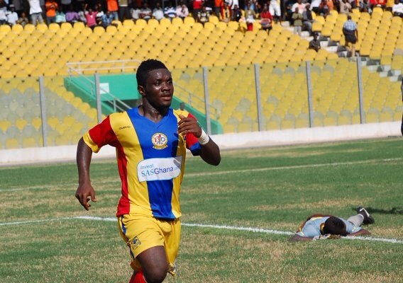 Hearts of Oak are without Romeo Agban and Thomas Abbey at training
