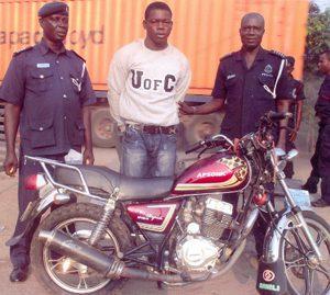 motorbike thief