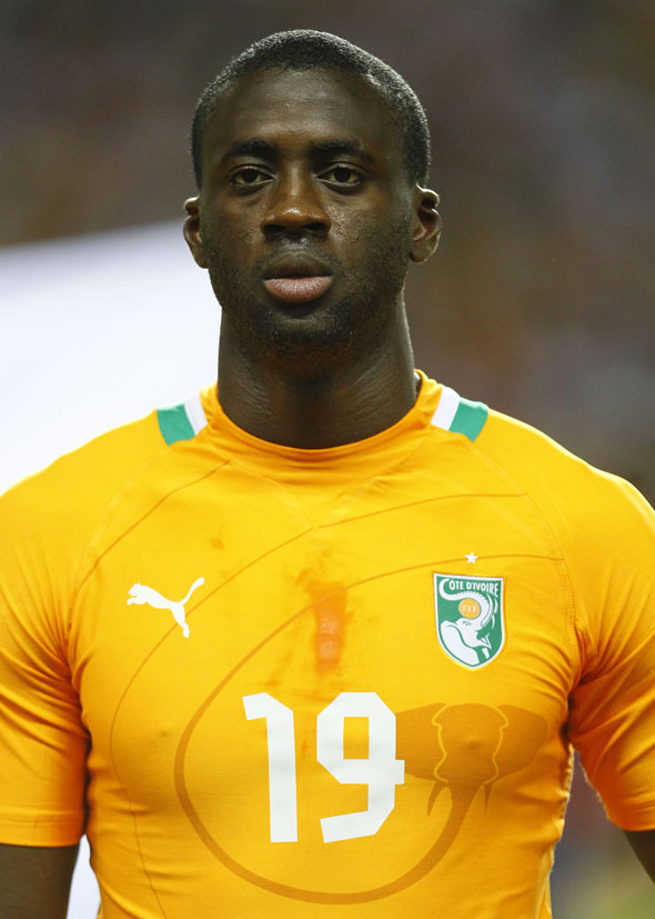 Ivory Coast midfielder Yaya Toure equaled the records of Abedi Pele and Samuel Eto'o when he landed his third successive African Footballer of the Year award on Thursday to cap a memorable week.