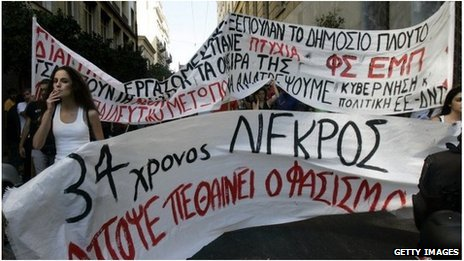 Greece's austerity programme has been fiercely resisted