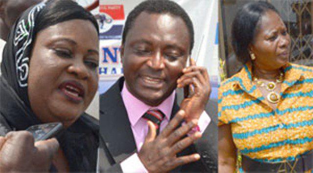 Hajia Fati Amadu, Fred Amankwah Sarfo and Madam Philomena Serwaa Akoto Sam