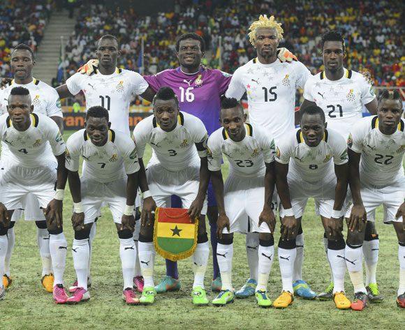 Ghana's team in 2003