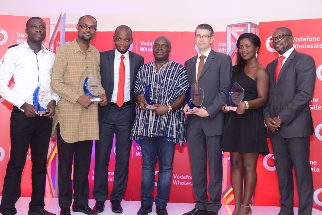Award Winners with Kwaku Sakyi-Addo and MD-Wholesale