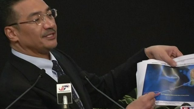 """Hishammuddin Hussein: """"This is another new lead that will help direct the search operation"""""""