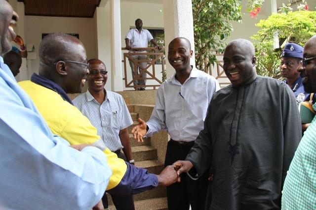 Ashanti Regional Minister George Opoku