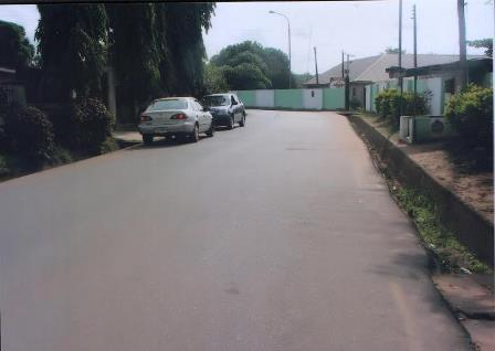 MBANO STREET (ROAD 17) ALADINMA HOUSING ESTATE BY NYSC OFFICE REHABLITATED BY IMO SPEAKERS COMPANY
