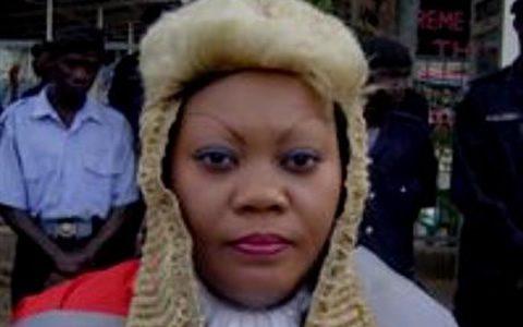 former Gambian Chief Justice, Mabel Agyemang
