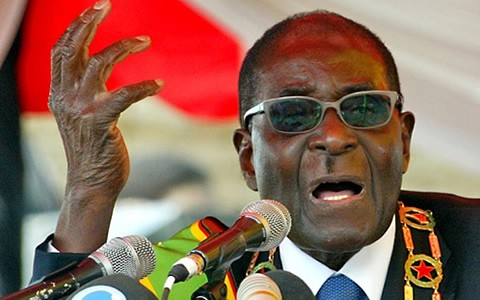President Mugabe reportedly receives a salary of ?5,000 a month but is looking for a further pay bump