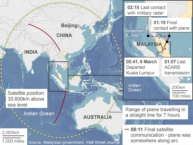 atellite map