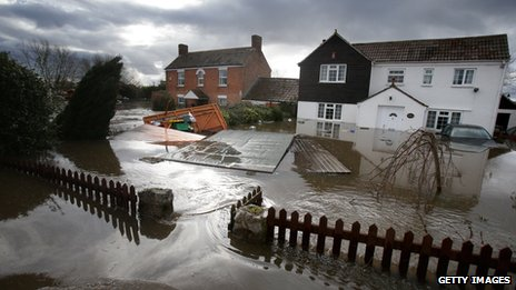 The costs of this winter's floods in the UK are not yet known