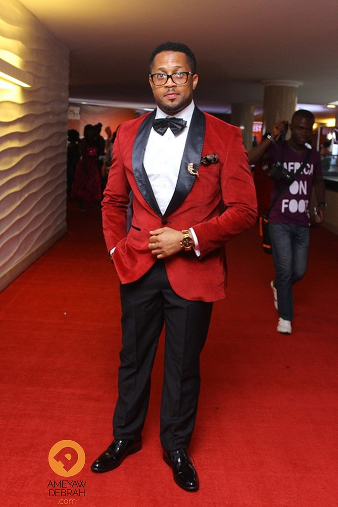 AMVCA red carpet