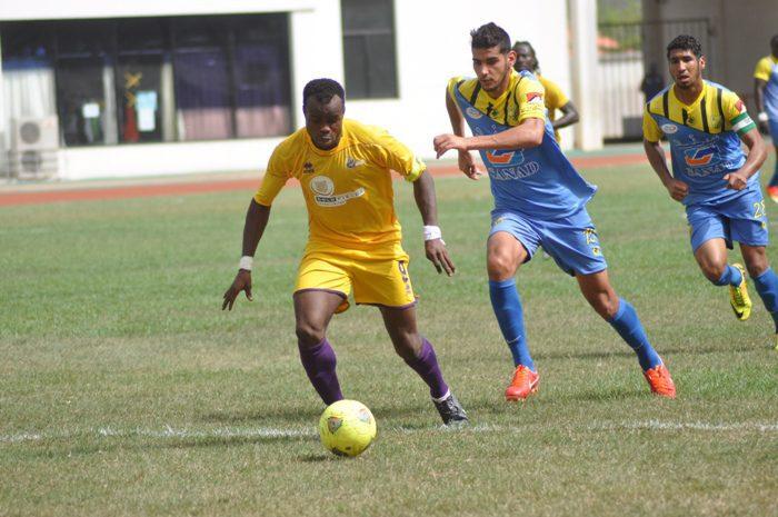 Kabiru Moro returns for Medeama against Zesco United