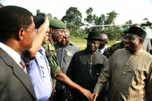 Mr. President in Bayelsa
