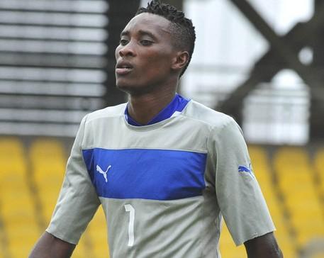 Ghana goalkeeper Daniel Agyei