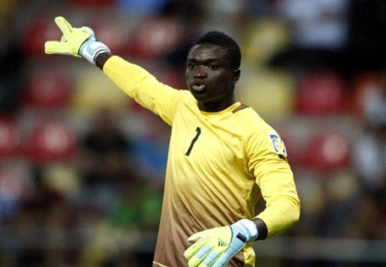 Amidaus Professionals goalkeeper Eric Ofori Antwi