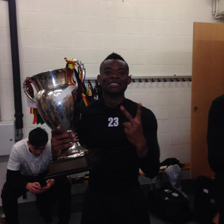 Eugene Ansah thrilled with Blegian Cup trophy