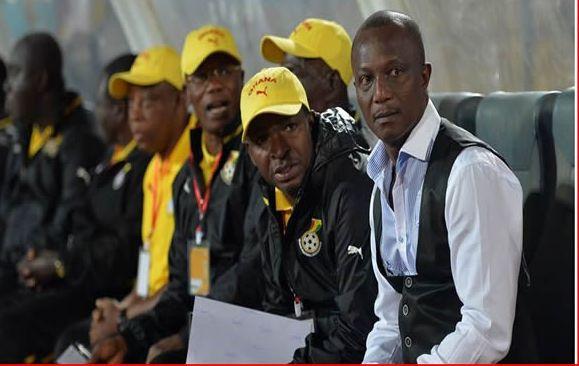 Ghana's bench