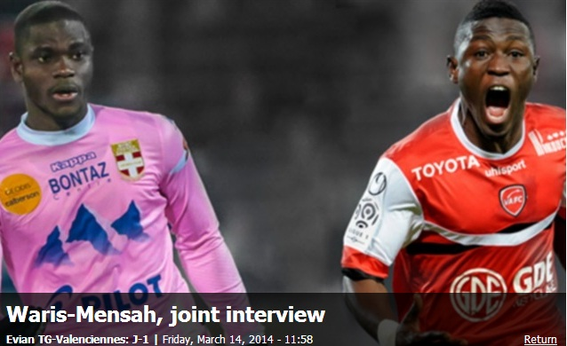Jonathan Mensah and Majeed Waris talks about their clubs chances ahead of Saturday's game