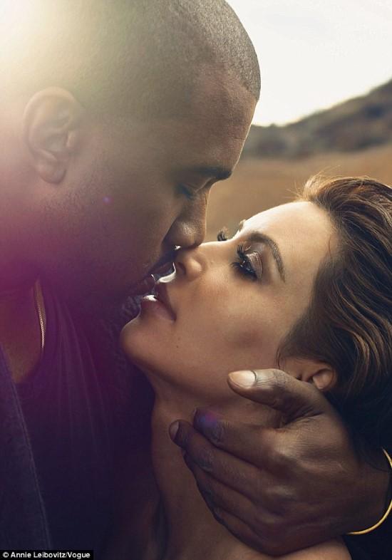 Kanye and Kim VOGUE