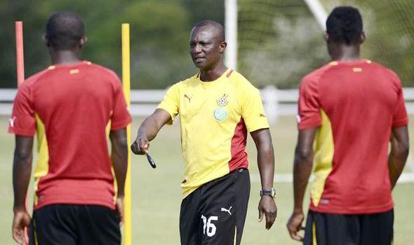 Kwesi Appiah training is Black Stars