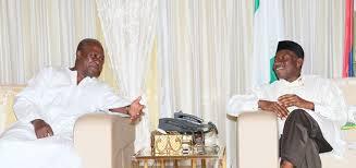 Presidents John Mahama and Goodluck Jonathan