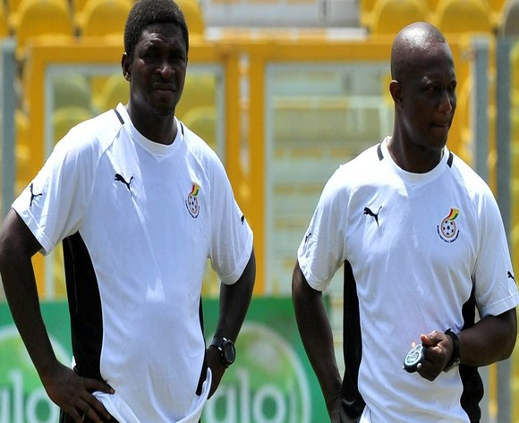 Maxwell Konadu and Kwesi Appiah
