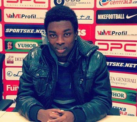 Ghanaian youngster Obeng Regan