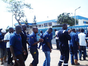 Some of the aggrieved Baker Hughes workers