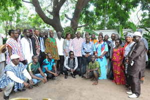 Delegates from Upper East