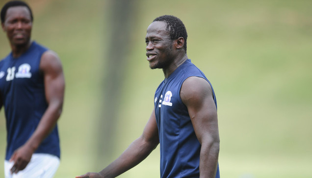 Yakubu back at Maritzburg United training after malaria setback