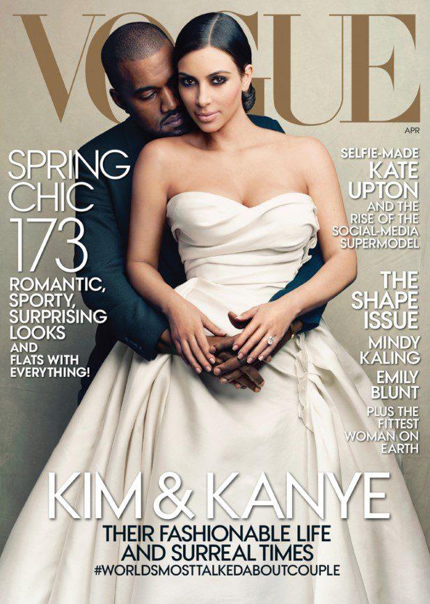 kim-kanye-vogue cover-april-2014