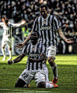 Kwadwo Asamoah says he feels privileged to play alongside the likes of Andrea Pirlo, Gigi Buffon and Carlos Tevez at Juventus.