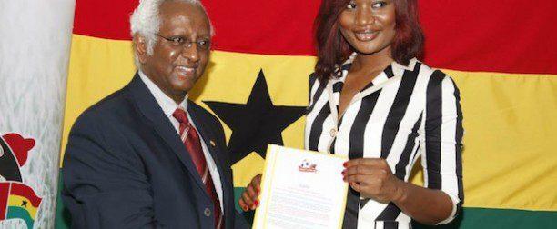 Sandra Ankobiah, Ama K, Nana Aba, Dumas, Edem, Elikem OTHERS, sign up to UNAIDS? Protect the Goal campaign