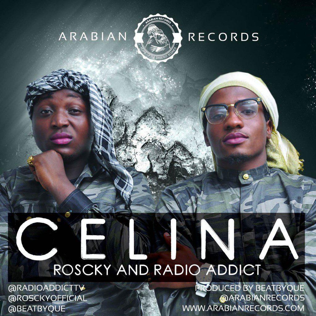 Arabian Records ft. Roscky & Radio Addict - CELINA [prod. by QueBeat] Artwork