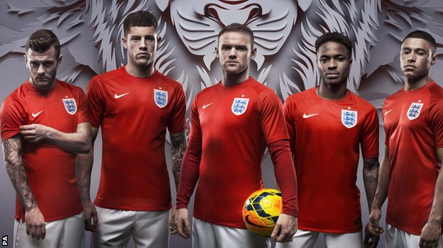 England world cup shir