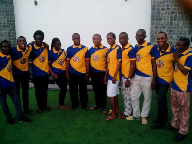 Members of Uyo Local Organizing Committee after a meeting