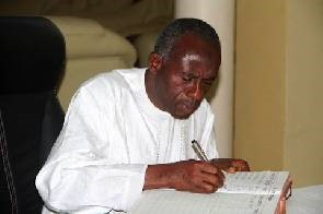 Alhaji Collins Dauda, Minister for Water Resources, Works and Housing