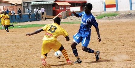 Community football in Tema