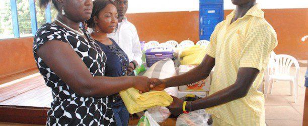 GOOD MEASURE: Kenzo?s Place Donates to Dzorwulu Special School