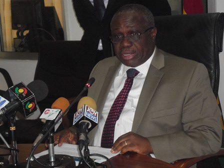 Dr. Henry Kofi Wampah, Governor, Bank of Ghana