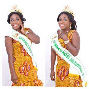 Emefa Adeti, Ghana's Most Beautiful 2012