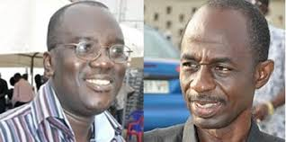 Kwadwo Owusu Afriyie and Johnson Asiedu Nketia