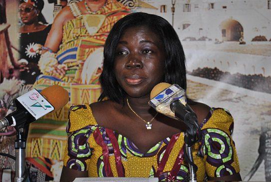 Mrs Elizabeth Ofosu Adjare, Minister for Tourism, Culture and Creative Arts