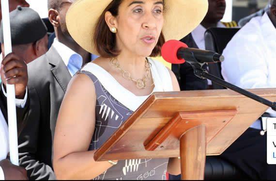 Madam Irene Vida Gala, the Brazil Ambassador to Ghana