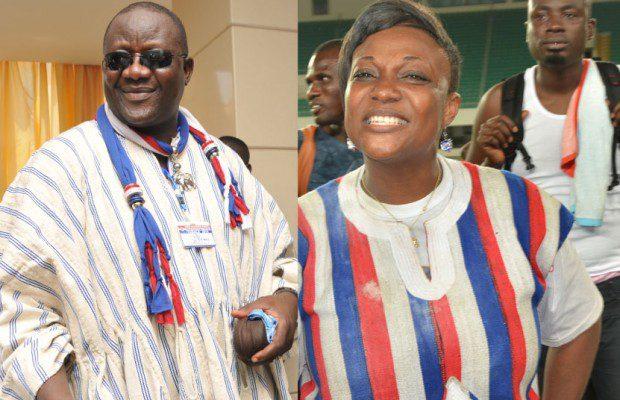 Paul Afoko and Otiko Djaba