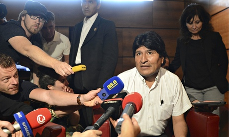 Bolivian president Evo Morales is due to make his debut in August