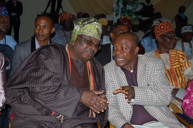 His Royal Highness, Oba Sikiru Adetona, Awujale Of Ijebuland And  Secretary To  Ogun State Government, Barrister Adeoluwa Taiwo, Represents  Ogun State Governor At  Lectures Cum Book Launch To Commemorate The 80th Birthday