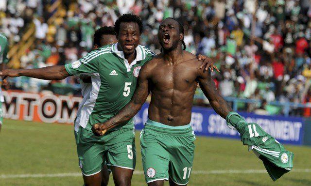 Nigeria qualifies for Brazil